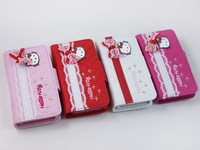 Free shipping  Hello Kitty Shape Soft Silicone Case for iPhone 4 4S