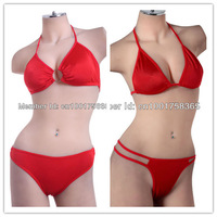 Wholesale 6 suits/lot Red color 2 Style Bikini Women Bathing Suit  (UW-508/110)