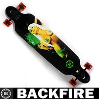 """Backfire skateboards 42""""double warped four-wheel professional sector 9 Drop deck longboard downhill skate longboard"""