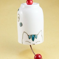 FREE SHIPPING!!!Ceramic crafts, Ceramic windbell and household adornment FL1024