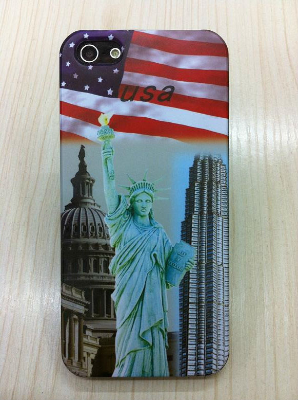 50pcs/lot Wholesale New USA/UK/Canada Case for iPhone 5 5G, DHL Free Shipping, France/Brazil/Germany Country View Case IP5-105(China (Mainland))