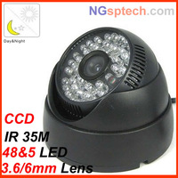 Hot sale ! 48Leds Night Vision IR 35 m  700tvl OSD  security camera free shipping