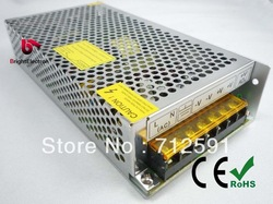 12V 30A 360W led strip switching power supply transformer adapter metal box coonect 5m 5050 60led strip free shipping(China (Mainland))