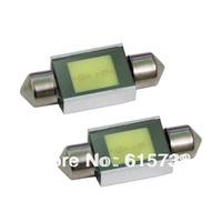 High Power COB Led White LED Festoon Dome Car Interior Lamp Bulb 2W 31mm
