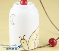FREE SHIPPING!!!Ceramic crafts, Ceramic windbell and household adornment pendant FL1028