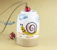 FREE SHIPPING!!!Ceramic crafts, Ceramic windbell and household adornment pendant FL1019