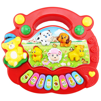 Music piano electronic piano toy for kids of 13-24 months and 1-3 years old child orgatron baby toy baby toy 0 - 3