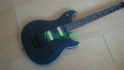 2012 new model guitar evh wolfgang matte black electric guitar free shipping roswewood fetboard(China (Mainland))