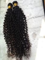 """100% Pure Natural Malaysian Human Virgin Curly  Waving 4pcs/lot 12""""-28"""" human hair extensions DHL By Shipping"""