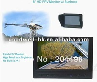 New ! 8 inch Professional FPV Aerial Photography LCD Monitor for Ground Station