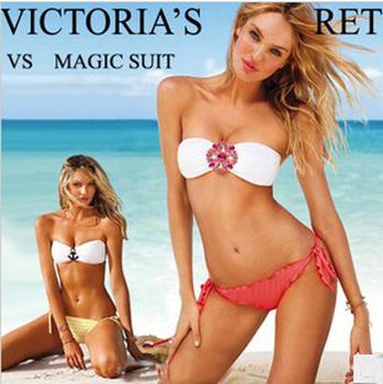 2013 new brand swimwear bikini sexy vs bikini swimwear women floral swimsuit bathing suit sexy swimwear