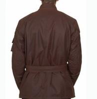 man windproof waterproof wax cotton batik  belsta trailmaster lengend yellow motor jacket
