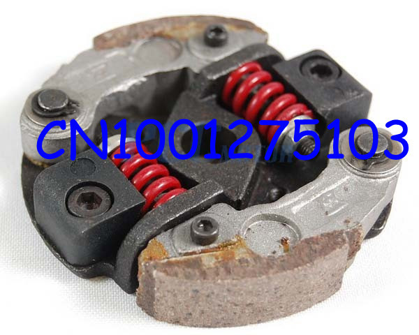 Free shipping 2 stroke engine parts pocket bike clutch cheap Wholesale mini bike clutch scooter ATV engine 39cc 43cc 49cc(China (Mainland))