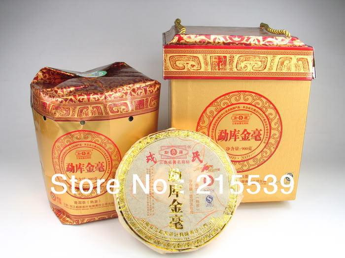 Чай Пуэр MENG KU ] 900 G * 2009 menGku ronGshi 6 * 150