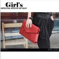 Bags 2013 female fashion envelope bag vintage messenger bag briefcase shaping bag cross-body women's handbag