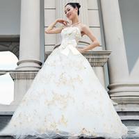 free Shipping The bride wedding dress new arrival 2013 royal princess tube top