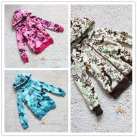 Ultra soft dream child baby coral fleece zipper outerwear children's clothing 110 - 145