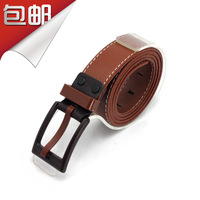 Plastic buckle belt male strap anti-allergic Women strap women's all-match