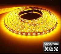 Wholesale 5050 led strip light waterproof 60led/m yellow color