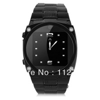 Stainless TW818 Watch Phone 1.6 Inch Quadband Java Bluetooth Camera Unique Menu Free Shipping