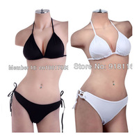 Wholesale 6PCS/Lots Womens Sexy Hot  Solid Swimwear Triangle Top & BIKINI Low Rise Thong Bottom Beachwear Swimsuit (UW-555)