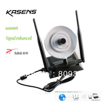 New Hot Kasens 660000N High Power 3000mW 802.11b/g/n 150Mbps USB 2.0 WiFi Wireless Network Adapter 3 Antenna