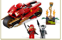 Bela Ninja L9441 Ninjago Kay ZX Motorcycle 9754 Building Block Sets 187pcs Educational Jigsaw Construction Bricks toys