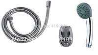 Bathroom Single-function Shower set (shower head +hose+wall bracket+fitting parts) KSH2001-SET