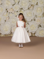 2013 Summer Little girl's pageant dress Pretty dress A-line White Flower girl dresses Children dresses