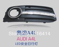 Hot SALES!!! FREE SHIPPING!!!LED daytime running lights for AUDI A4L