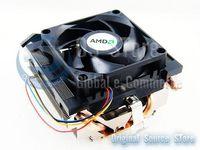 AMD Copper Pipe 4pin CPU Fan heatsink cooler cooling Socket AM2 AM3 938 939 940  Athlon Phenom FX