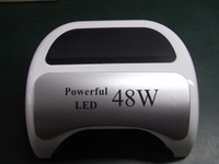 2 pcs / lot ,  18G  LED Lamp Curing all fingers within 5seconds, Latest LED nail lamp! Free shipping by FEDEX