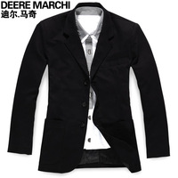 2012 men's casual suit male fashion slim fashion blazer outerwear 2703