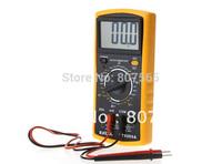 New DT9205A AC/DC Professional Electric Handheld Tester Meter Digital Multimeter 5 pcs/lot