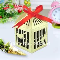 Birdcage Design sweet favor box for wedding