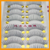 Wholesale Makeup Tools Taiwan pure handwoven natural fiber holiday eyelashes 218 - Free shipping