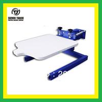 TJ manual 1 color simply screen printer,screen printing machine,t shirts printing machine