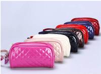 2013 6 Colors Fashion Bag Cute Rhombus Makeup Bag Multifunction Cosmetic Bag Mini Day Clutches Cash bag Wholesale Free shipping