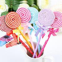 Free shipping Stationery lollipop pen gift pen ballpoint pen Children stationery melange