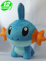 Pokemon Mudkip Plush Doll Toys Figure 12inches Stuffed Anime Birthday Present PNPL8005
