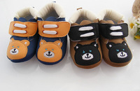free shipping 12pairs/lot Cotton baby shoes cartoon anti slip floor shoes  baby first walker kid's shoes infant gift