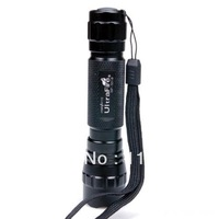 Highly Ultrafire Wf-501b Cree Xm-l T6 Led 1000 Lumens 1 Mode 3.7-18v Flashlight
