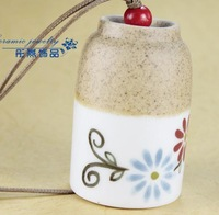 FREE SHIPPING!!!Ceramic crafts, Ceramic windbell and household adornment pendant FL1006