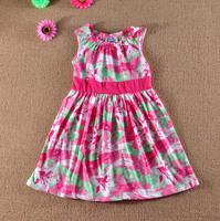 Pleasemum children's clothing female child summer tank dress baby