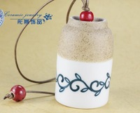 FREE SHIPPING!!!Ceramic crafts, Ceramic windbell and household adornment pendant FL1009