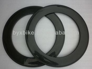 wholesale-2013 88mm carbon clincher/tubular rims&carbon fibre rims&3k glossy/matte finishing&OEM painting