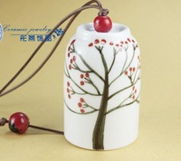 FREE SHIPPING!!!Ceramic crafts, Ceramic windbell and household adornment pendant FL1014