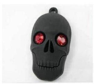 Sale! cute Ghost head model USB 2.0 Memory Stick Flash Drive enough 16G 32G 64G 128G  UP18