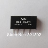 10pcs/lot DC-DC converter B2415S-2W in SIP Free shipping