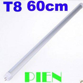 2ft T8 LED Tube 9W 600mm G13 SMD 144 LED Tube Bulb Fluorescent 60cm for Home Lamp Cool|Warm White 85V~265V by Express 30pcs/lot